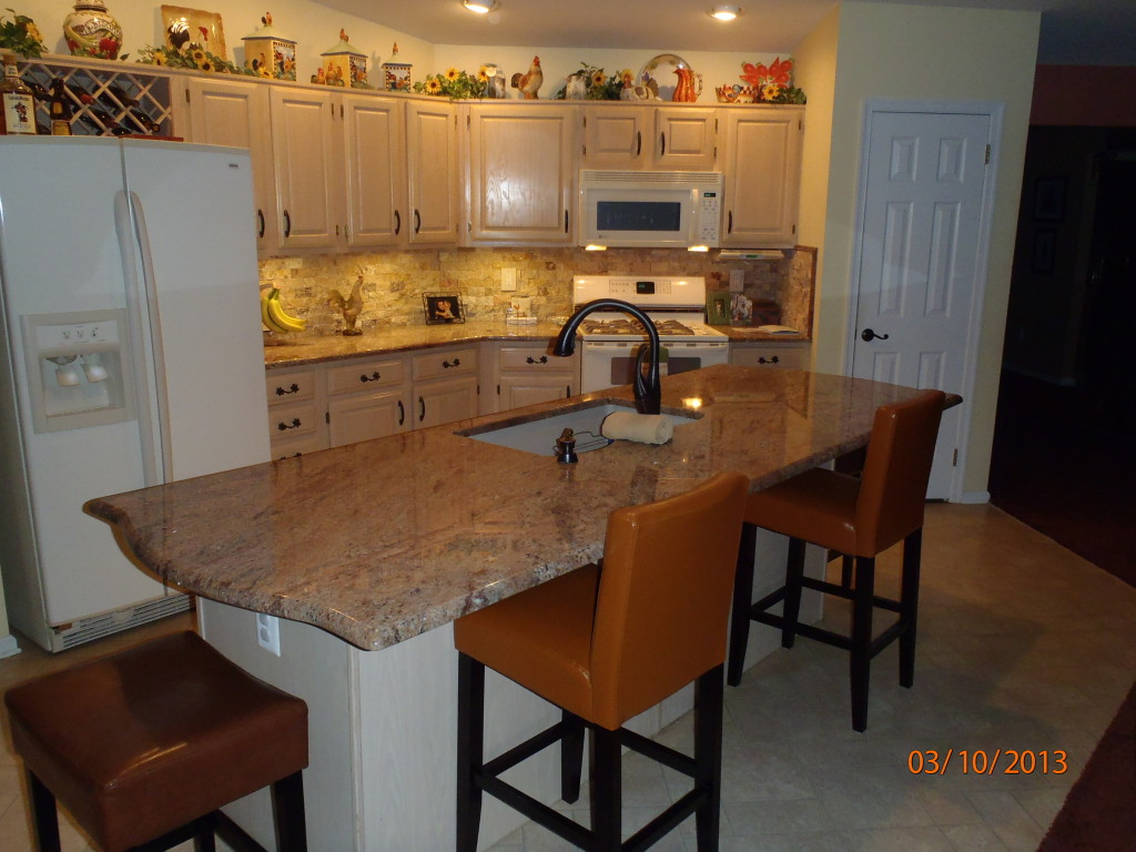 Colossus Granite Amp Marble Inc Rosewood Granite Kitchen