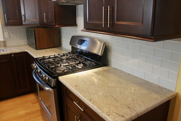 Colossus Granite Marble Inc 3cm River White Granite Kitchen Colossus Granite Marble Inc