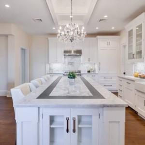 Genial 3cm Super White Quartzite Kitchen
